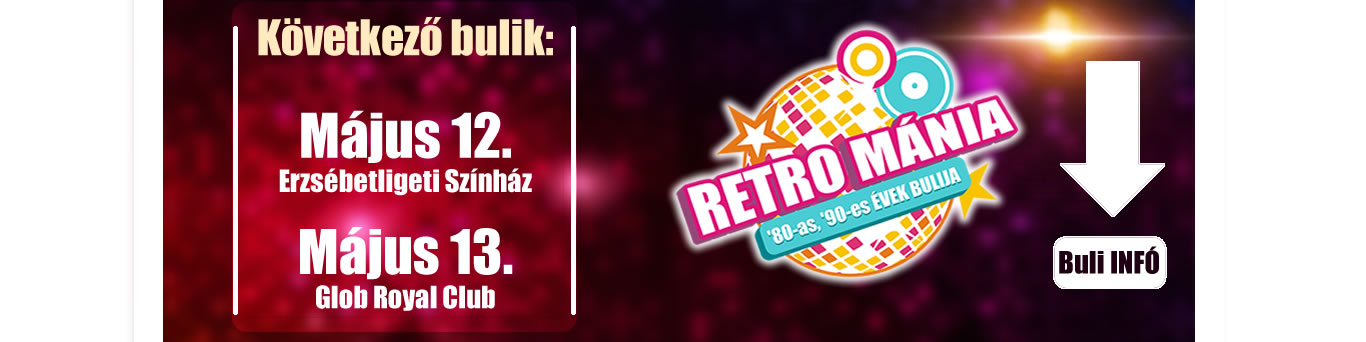 Retro Mánia Retro Disco Budapest 2017 május